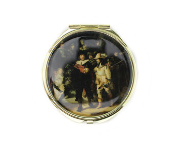 Folding Pocket Mirror, The Nightwatch, Rembrandt