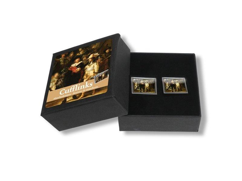 Cufflinks, Rijksmuseum, Nachtwacht, Rembrandt