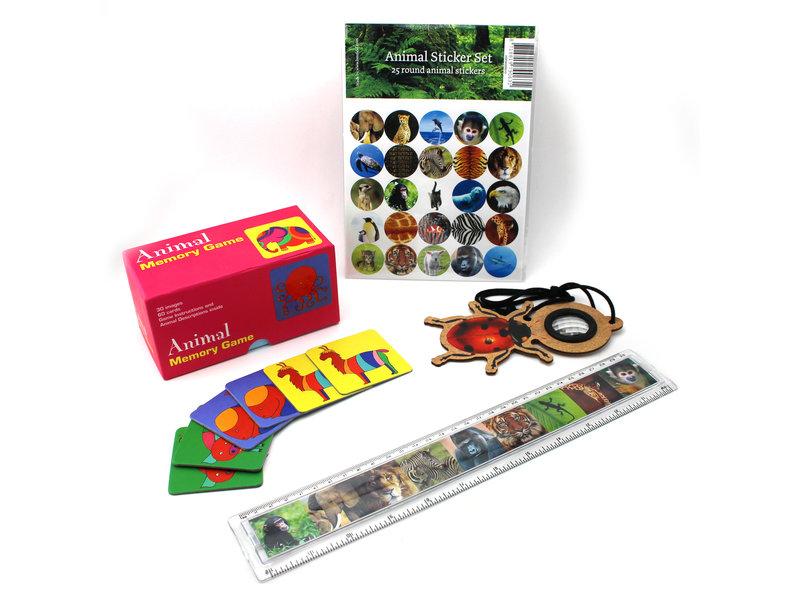 Set de regalo, Animales para niños