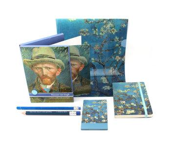 Ensemble-cadeau, Van Gogh Bureau Fleur d'amandier