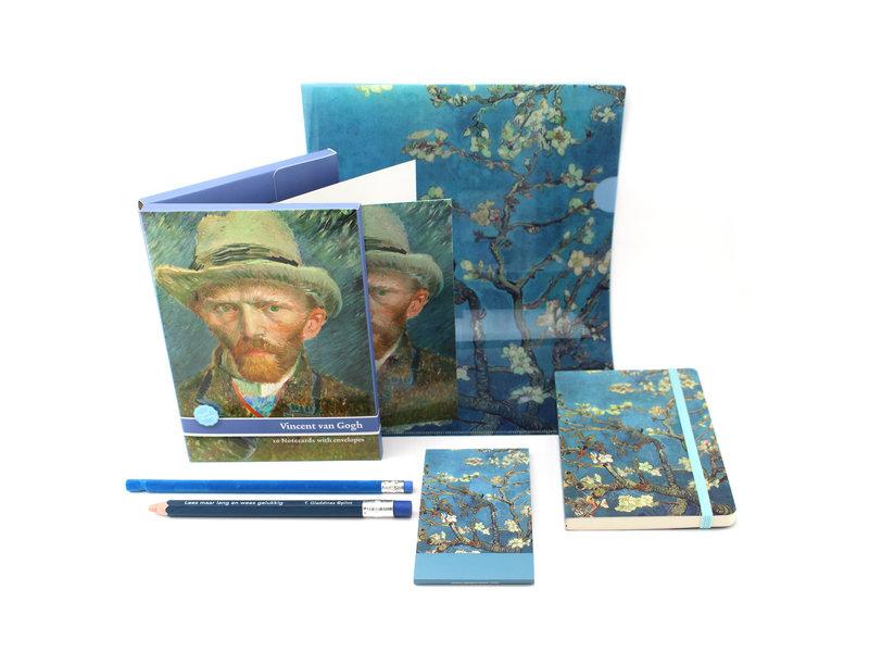 Gift Set, Van Gogh Office Amandelbloesem