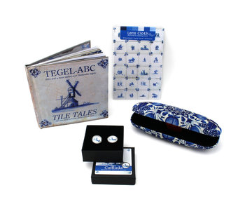 Gift Set, Delft blue, for him