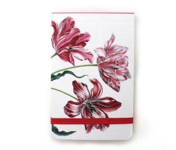 Pocket Note A7 , Drie tulpen, Merian