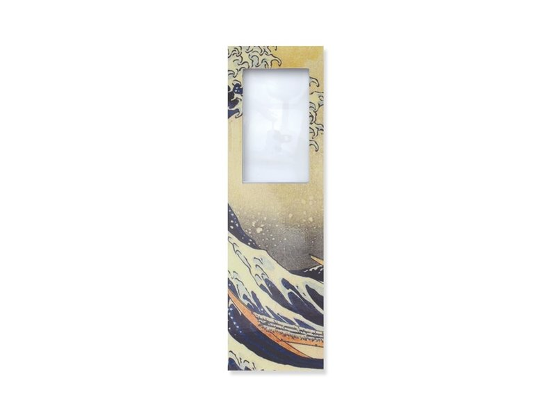 Magnifying Bookmark  Hokusai, The Great Wave