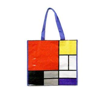 Einkaufstasche, Mondriaan