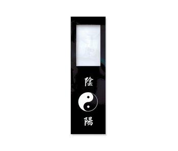 Marcador con lupa, Yin Yang