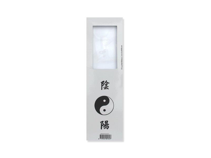 Lesezeichen mit Lupe, Yin Yang