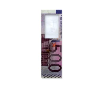 Marque-page avec loupe,  Billet de 500 euros