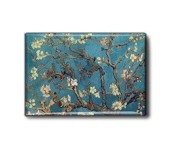 Imán de nevera, flor de almendro, Van Gogh