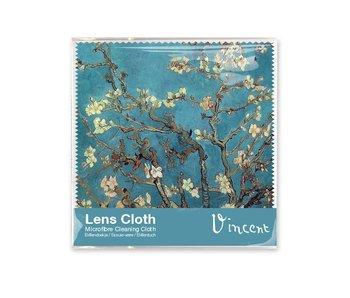Chiffon à lunettes,  15 x 15 cm, Fleur d'amandier, Van Gogh