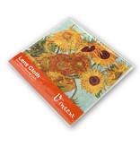 Brillendoekje, 15 x 15 cm, Zonnebloemen, Van Gogh