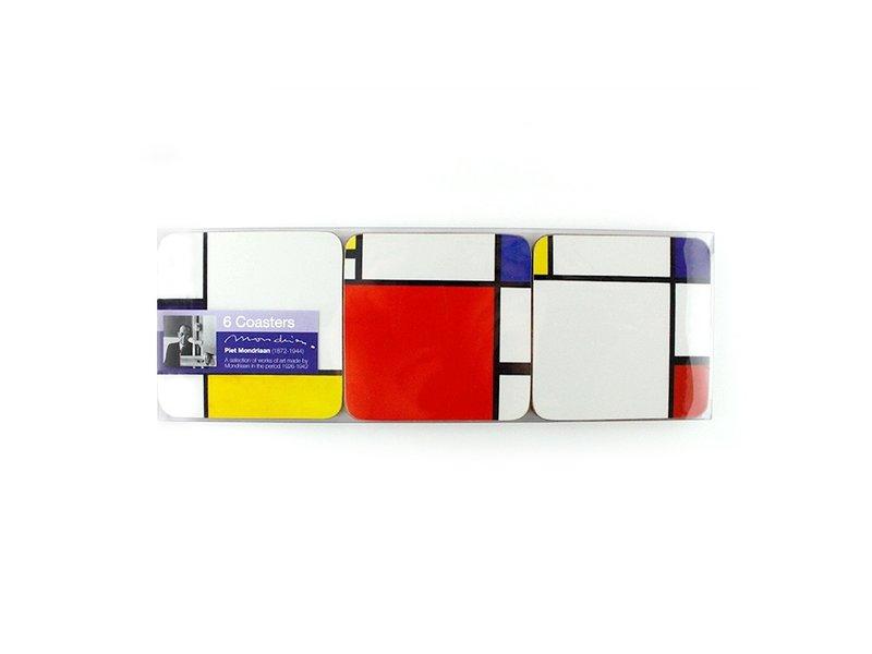Posavasos, Composición, Mondrian