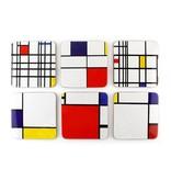 Coasters, Composition, Mondrian