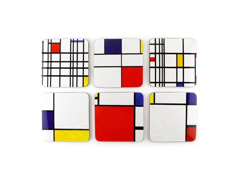 Untersetzer, Komposition, Mondrian