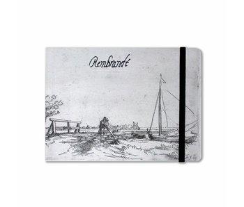 Skizzenbuch, Brücke der Sechs, Rembrandt