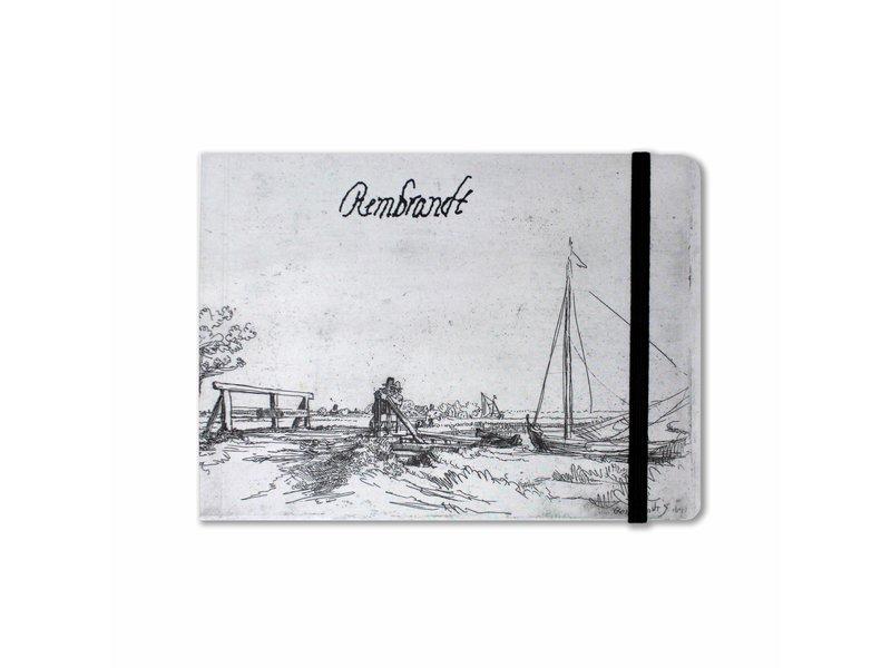 Carnet de croquis, Pont des Six, Rembrandt