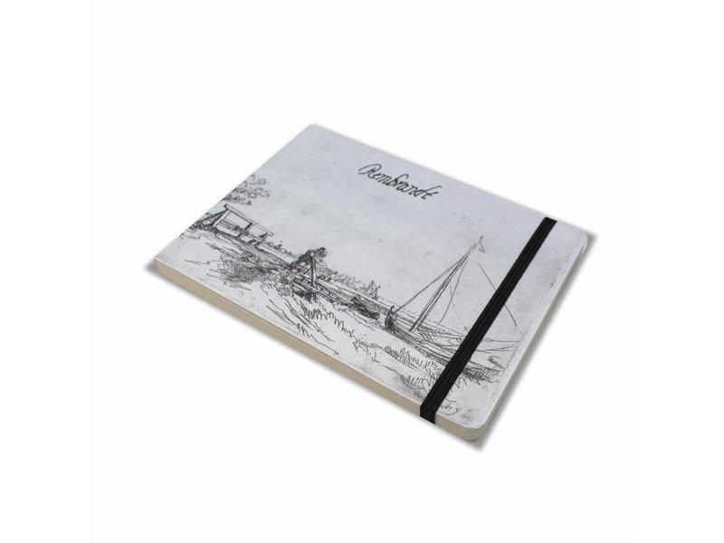 Schetsboekje, Bruggetje van Six, Rembrandt