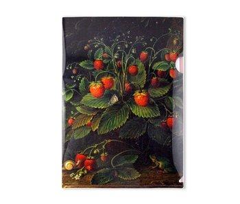 Filesheet  A4 Schlesinger, Aardbeien