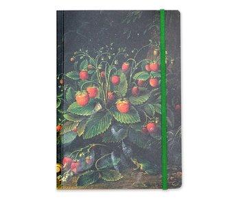 Softcover notitieboekje , A5 , Schlesinger , Aardbeien