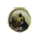 Klapspiegeltje, Het melkmeisje, Vermeer