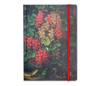 Cuaderno de tapa blanda, A5 Schlesinger, grosellas