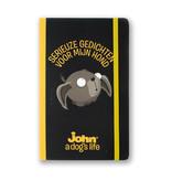 Opschrijfboekje, John, a dog's life