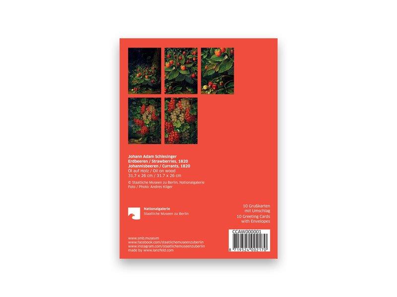 Kaartenmapje ,Schlesinger , 2x5 ontwerpen