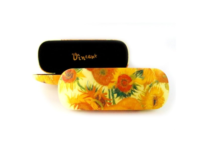 Brillenetui, Sonnenblumen, Van Gogh