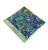 Linsentuch, 15 x 15 cm, Iris, Van Gogh