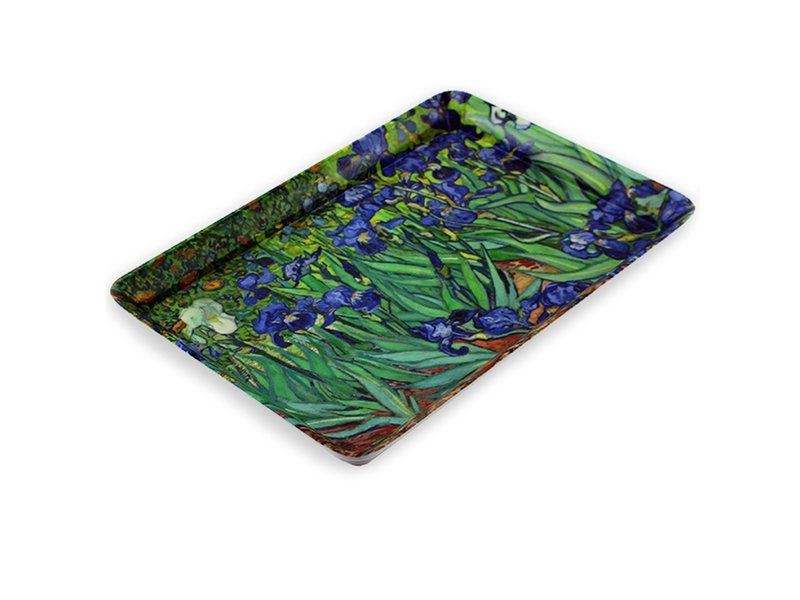 Mini dienblad , 21 x 14 cm, Irissen, Van Gogh