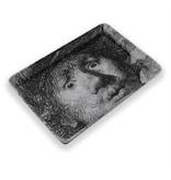 Mini plateau, 21 x 14 cm, Autoportrait au look étonné, Rembrandt