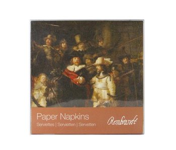 Paper Napkins, Nightwatch, Rembrandt