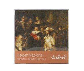 Serviettes en papier, Veille de nuit, Rembrandt