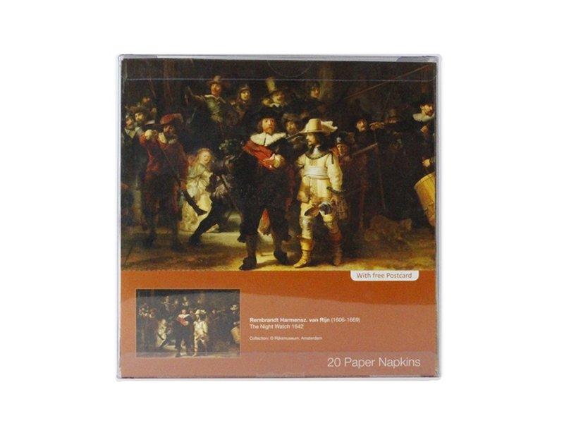 Papierservietten, Nachtwache, Rembrandt