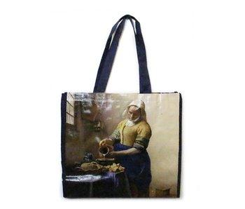 Bolso de compras, Vermeer, la lechera
