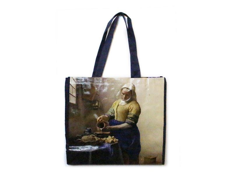 Shopper, Vermeer, The Milkmaid