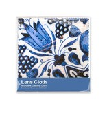 Brillendoekje, 15 x 15 cm, Delfts blauw, Tulpen