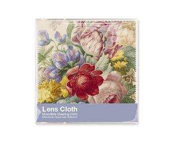 Chiffon à lunettes, 15 x 15 cm, Fleurs, Henstenburgh