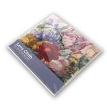 Essui-verres, 15 x 15 cm, Fleurs, Henstenburgh