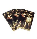 Jugando a las cartas,V igilancia nocturna, Rembrandt