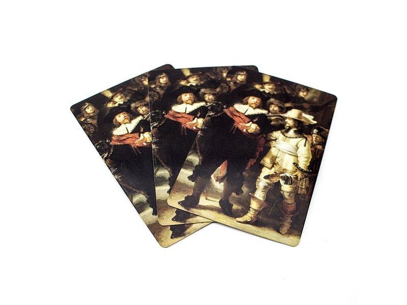 Cartes à jouer, Veille de nuit, Rembrandt