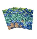 Jugando a las cartas, Iris, Van Gogh
