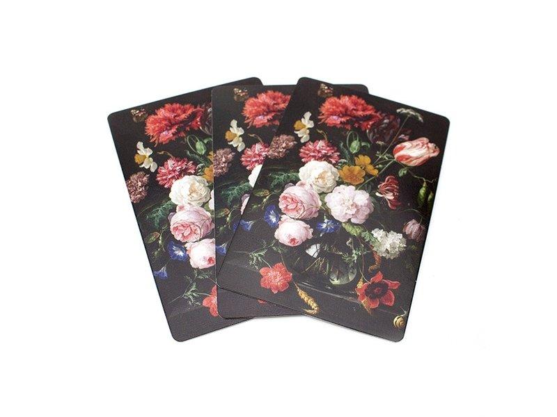 Cartes à jouer, De Heem, Nature morte aux fleurs