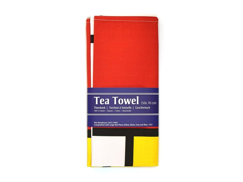 Tea Towel, Mondrian