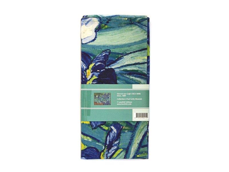 Theedoek, Irissen, Van Gogh