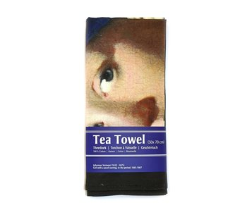 Tea towel, Girl with a pearl earring, Vermeer