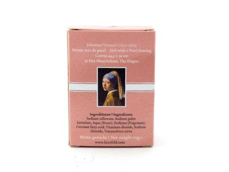 Jabón, Chica con un arete de perla, Vermeer