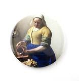 Miroir de poche, Ø 80 mm, Milkmaid, Vermeer