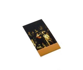 Bloc de notas, Vigilancia nocturna, Rembrandt