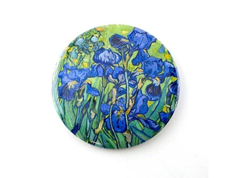 Taschenspiegel, Ø 80 mm, Irisses, Van Gogh